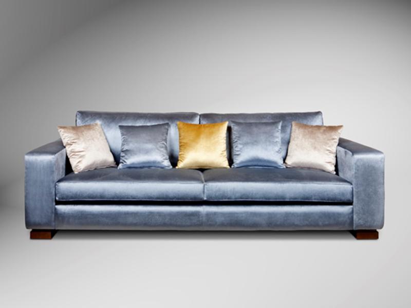 Sofa rectp azul atril decoracion atrildeco - Atril decoracion ...